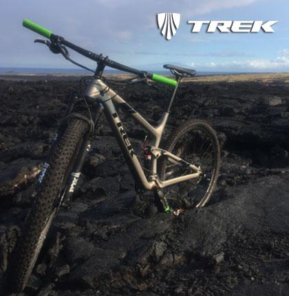 Trek Ebikes Kona Lava Fields